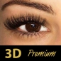 3D Volume Lashes 0,07 mm, C-Curl