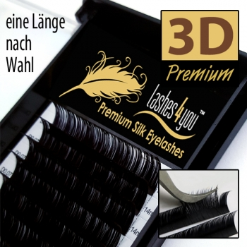 3D Volume Wimpern 0,07 mm