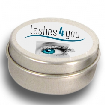 Can for single eyelashes