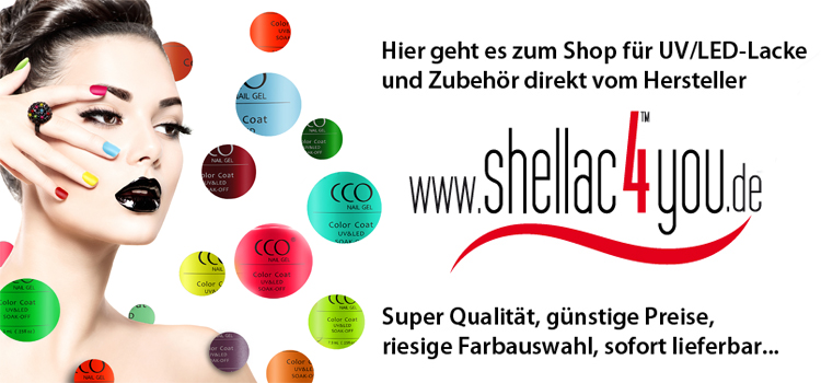 Zum Shop Shellac4you.de